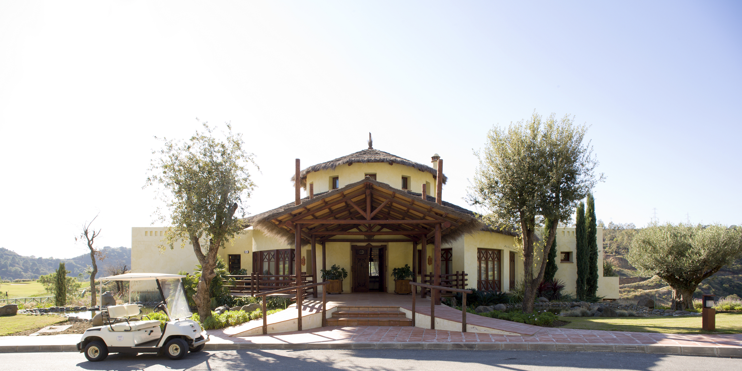 Los Barrancos Golf Club House