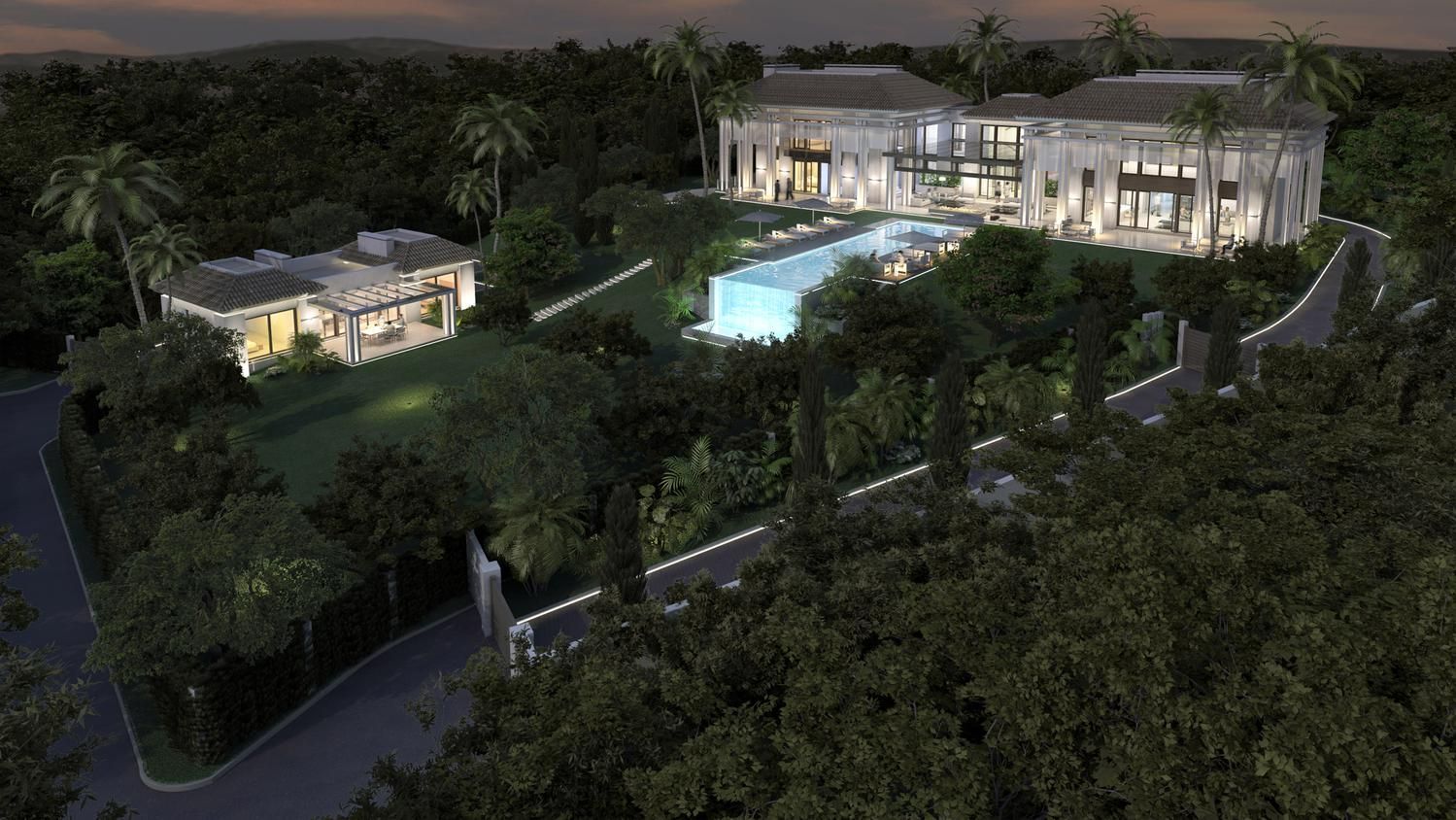 Marbella hill club villa private residence by tobal - Ambience home design marbella ...